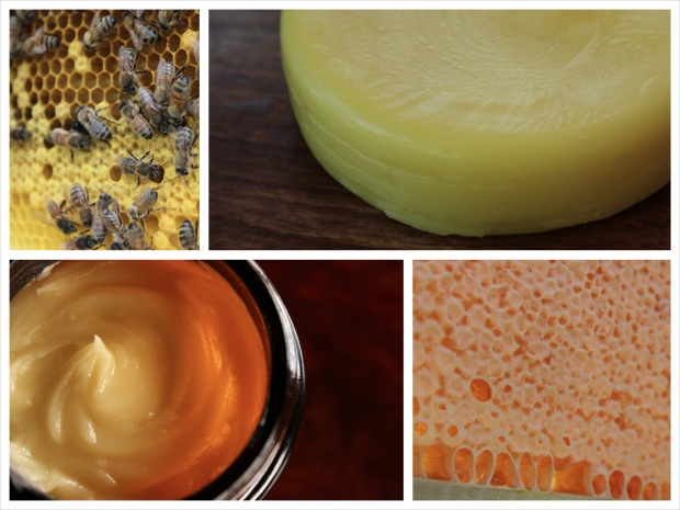 Beeswax is a key ingredient